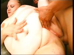 Insatiable fat mama can't get enough meat in pussy!