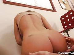 Hot milf boss fucked hard at the office