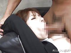 Dominated and fucked at work