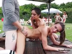 Wild cunt gives a striking performance