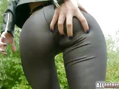 All internal misha cross gets anal creampie