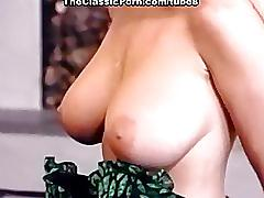 Lewd bombshell with big tits fuck