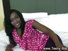 Sexy black teen dirty bitch