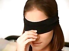 Brittany james blindfold