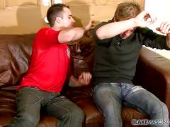 David and fraser wet blowjob