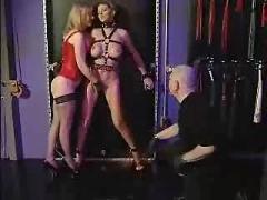 bdsm, group sex, stockings