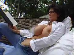 Hot milf, huge tits