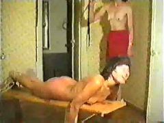 Brutall spanking