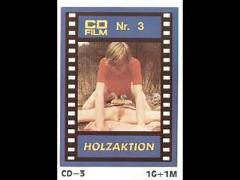 Vintage 70s german - cd-film 3 - holzaktion  - cc79