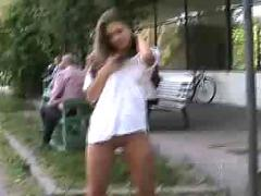 Flash in public - bikova 3