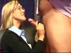 Business milf facial...f70