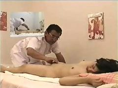 Asian girl fingered during massage p2