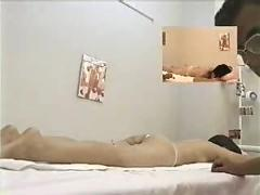Asian girl fingered during massage p1
