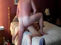 Amateur mom anal fuck
