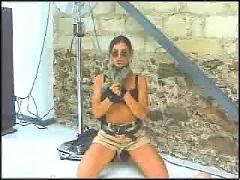 Karen lancaume  lara croft - nude raider 01