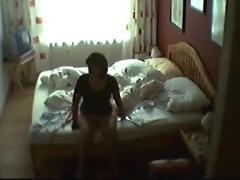 Voyeur masturbation and loud orgasm