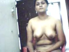 Indian woman in cam
