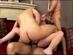 Dp -- 2 cocks in 1 pussy