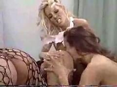 Ass licking lesbians