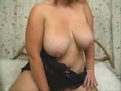 bbw, masturbation, tits