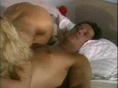 Two gorgeous blondes fuck and cummed on face