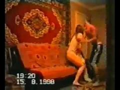 Home removals by candid camera from ussr.