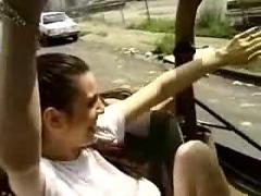 Tieten flashen vanuit een jeep