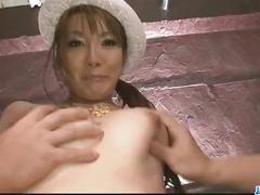 Naughty and glamorous babe yuna hirose cock humping