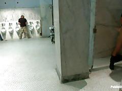 Public bathroom party