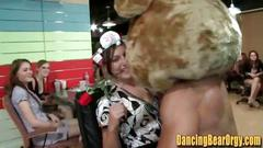 Slut actually fucks stripper at bachlorete party