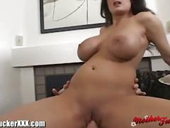 Big titted mom gets pounded hard