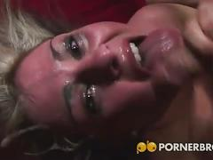 Slutty isabel gets her face fucked.