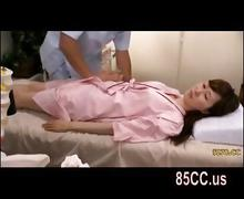 Wife seduced fucked by masseur nearby husband 03