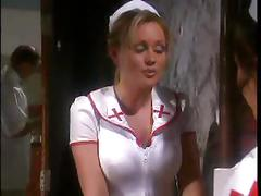 Babe nurse in stockings seduce patient when doctor...