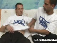 Young studs love hard bareback sex