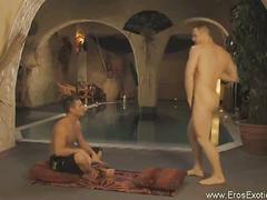 Erotic massage turned gay anal sex