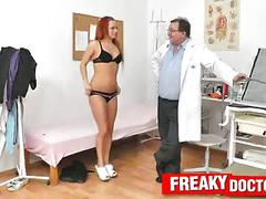 Redhead terry sullivan gyno rectal douche