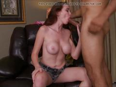 Jessica rayne is hungry for cock
