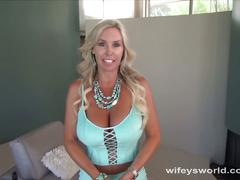 Hot milf is ready for porn audition