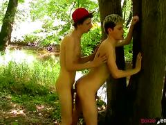 Emo boys woodland cock lust by homo emo
