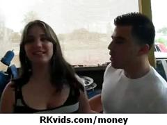 Gorgeous teens getting fucked for money 9