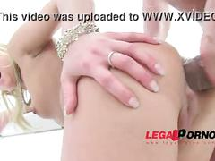 Licky lex & gina sweet blonde sluts dap'ed (maximum anal stretching & pissing) sz693