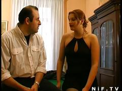 Redhead whore gets hard pounding and pussy fisting