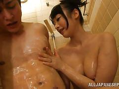 milf, japanese, shower, brunette, wash, jp milfs, all japanese pass