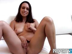 Propertysex - motivated real estate agent uses sex to get new client