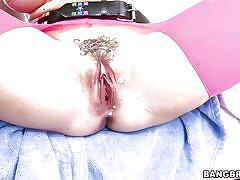 Chanel gets jizz in her vagina