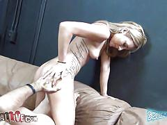 slim, live show, vibrator, masturbating, pussy licking, moaning, tattooed, shaved pussy, squirtamania, immoral live, nikki seven