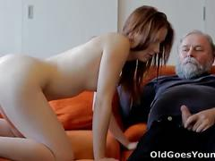 Teen sveta fucked by old man