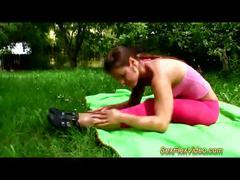 flexible, gymnast, contortion