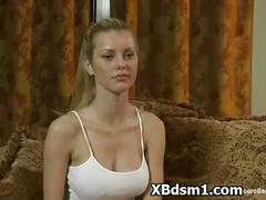 Whooping wild bdsm girl fetish sex